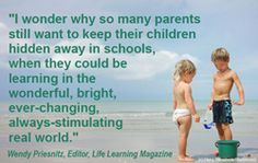 Homeschool encouragement. This is a great homeschooling quote.