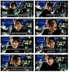Avengers Gag Reel, Coulson Noooooo