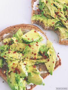 Avocado Toast #snack #vegetarian #healthy