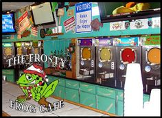 Frosty Frog on Hilton Head.