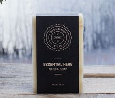 Nice looking soap // Essential Herb Bar Soap