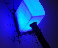 Thor's Hammer Night Light