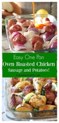 "One pan chicken and sausage dinner! <a class=""pintag"" href=""/explore/paleo/"" title=""#paleo explore Pinterest"">#paleo</a> <a class=""pintag"" href=""/explore/whole30/"" title=""#whole30 explore Pinterest"">#whole30</a> <a class=""pintag searchlink"" data-query=""%23yumyumyum"" data-type=""hashtag"" href=""/search/?q=%23yumyumyum&rs=hashtag"" rel=""nofollow"" title=""#yumyumyum search Pinterest"">#yumyumyum</a>"