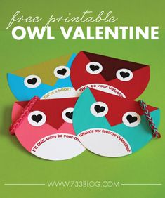 Owl Always Be Your Valentine - Free Owl Valentines