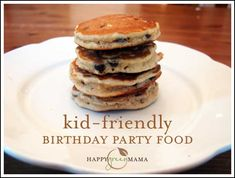 Kid-Friendly Birthday Party Food @happygreenmama1
