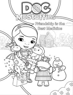 Fun Doc McStuffins activity sheets
