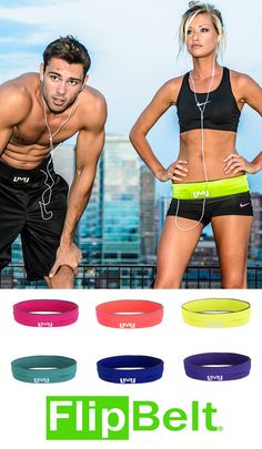 MUST GET ONE OF THESE FOR RUNNING OUTSIDE!!!!!!!!! Flipbelt, a single tubular pocket, fits around your waist and holds all your goods while workingout! running belts, hold while running, fitness cards, fitness workouts, hold phone, runningworkout cloth, outside workouts, fit belt, outside running workouts