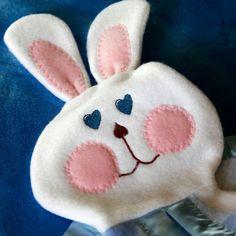 Fisher Price replica 1980's bunny blanket by SuziesImaginarium, $18.00