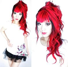 la carmina, lacarmina, gothic fashion, clothing line, blogger, goth model, bright red hair