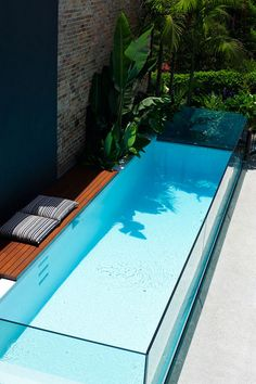 above ground glass pool
