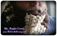 Mr. Right Cowl - Free Men's Crochet Cowl Pattern   #crochet #TheCrochetLounge