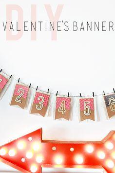 DIY: Valentine's Day Countdown