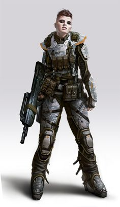 soldier concept #character