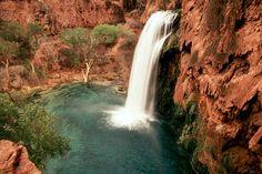Havasu Falls, Havasu Indian Reservation, AZ   © Marsha K. Russell