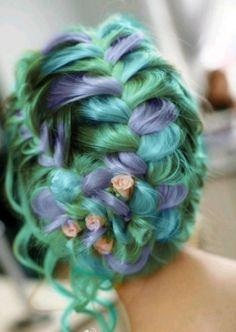 fashion hair color