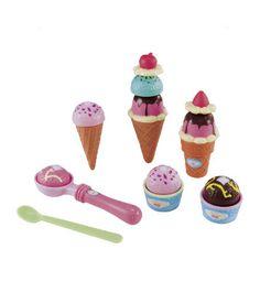 Cut & Play Ice Cream Set