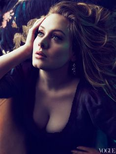 ADELE. Vogue March 2012.