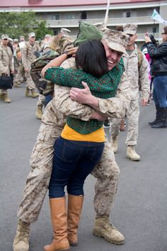 #homecoming #military #marines #usmc #husbandandwife #afghanistan #deployment  Welcoming my husband home from Afghanistan!     J. Lovely Photography