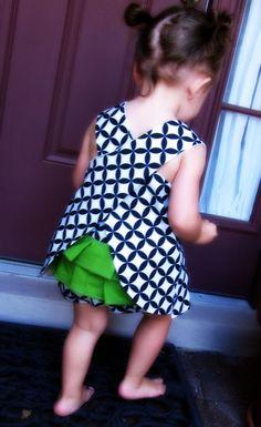little dresses, little girls, color combos, ruffl bloomer, ruffl bun, girl style, kelly green, romper, kid