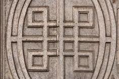 square celtic knot, symbolizes protection