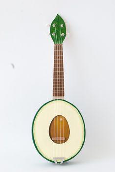 Avocado ukulele