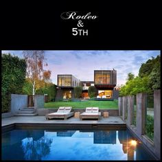 Stunning! Contemporary House Renovation by Jackson Clements Burrows. #rodeoand5th #luxury #homes #contemporary #design #decor #pool #view #renovation