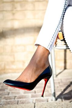 Fab shoes!  Red soles