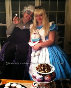 Homemade 1951 Alice in Wonderland Cartoon Costume for a Woman... Coolest Halloween Costume Contest