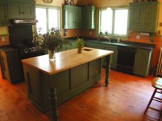 Country kitchen by Hudson Cabinetmaking Inc. histor kitchen, color, countri kitchen, country kitchens, farmhouse kitchens, kitchen layouts, kitchen islands, farmhous kitchen, farm kitchen