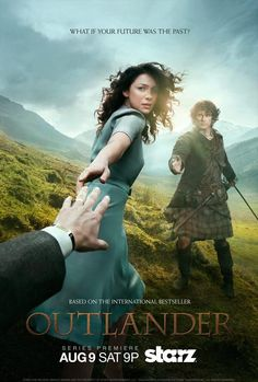 The OUTLANDER TV series premieres August 9, 2014, at 9pm on STARZ!