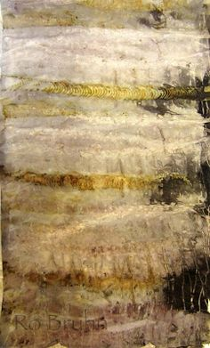 Ro Bruhn - eco dyeing, slightly more subtle