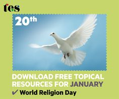 World Religion Day is 20th January 2013 - Try these free primary and secondary teaching resources to help you explore different world beliefs in class.