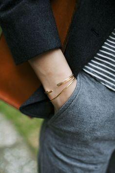 tiny cuffs.
