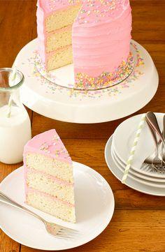 Perfect Pink Cake!