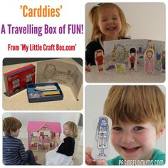 'Carddies' a Travelling Box of Fun!