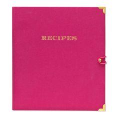 recipe binder :: sugar paper