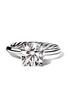 David Yurman Classic Solitaire Engagement Ring