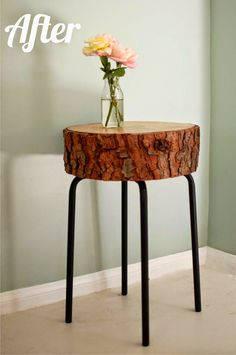 Life as a Thrifter: Wednesday Redo: Super Cool Side Table