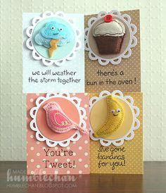 cards,  so cute! card idea, paper craft, bookmark idea, stuff, minis, mini card, diy paper, cards, art andcraft