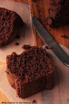 Kahlua Chocolate Cake-Kahlua and chocolate! Is there a better combination??