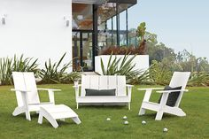 Easy Maintenance Outdoor Furniture from Room and Board