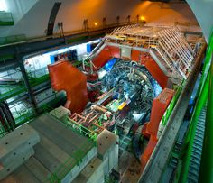 The Big Bang Experiments at CERN: ALICE, 2012 update by Antonio Saba via Behance #science #physics