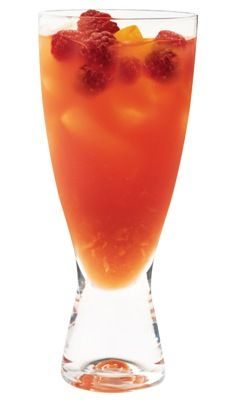 Tropical Splash  (2 oz. Pinnacle Tropical Punch Flavored Vodka   3 oz. club soda   Splash orange juice   Splash cranberry juice)