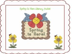 This packet includes 10 literacy centers to be used in Spring!*Word Family Sort*Rainbow Sight Word Memory*Spring Rhyme Time with Long Vowel...