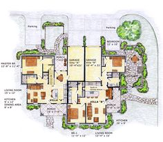 Duplex Floor Plans On Pinterest Floor Plans Duplex