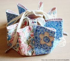 easy little bag - how to pics