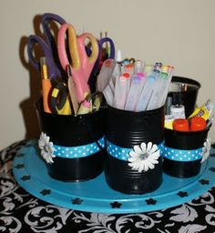 Love this to organize supplies!