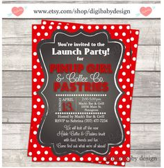 Printable Chalkboard event open house invitations//need open house invite