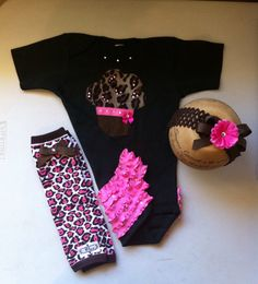 Cheetah Baby Girl BoutIque Clothing Baby Bling by solcreator, $32.00