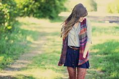 Sincerely, Kinsey: Tights + feathers
